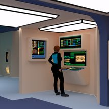 Starship Engineering Room 2 for DAZ Studio image 5