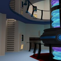 Starship Engineering Room 2 for DAZ Studio image 7