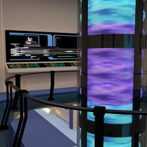 Starship Engineering Room 2 for DAZ Studio image 9