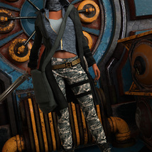 InStyle - SC Wastelander Outfit for Genesis 8 Female image 2