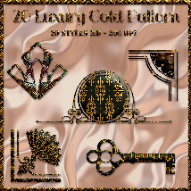 Styles Luxury Gold Pattern image 4