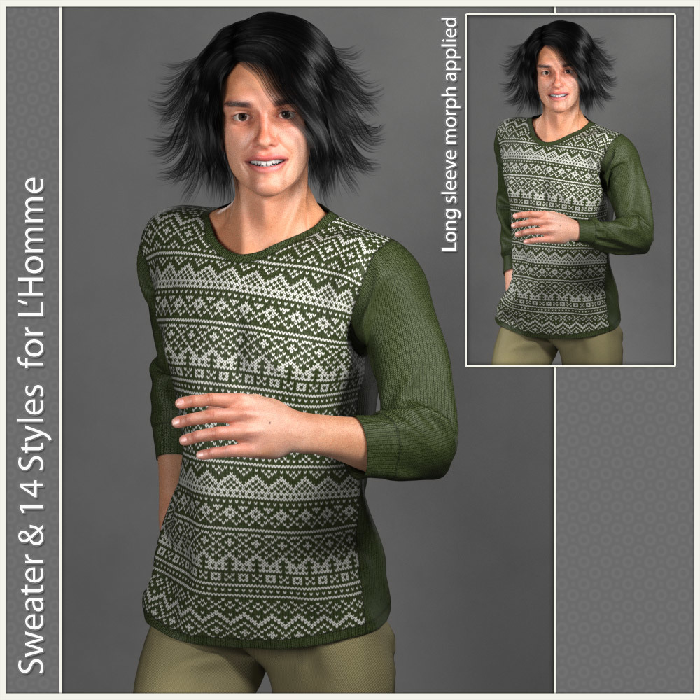 Sweater for L 'Homme by karanta