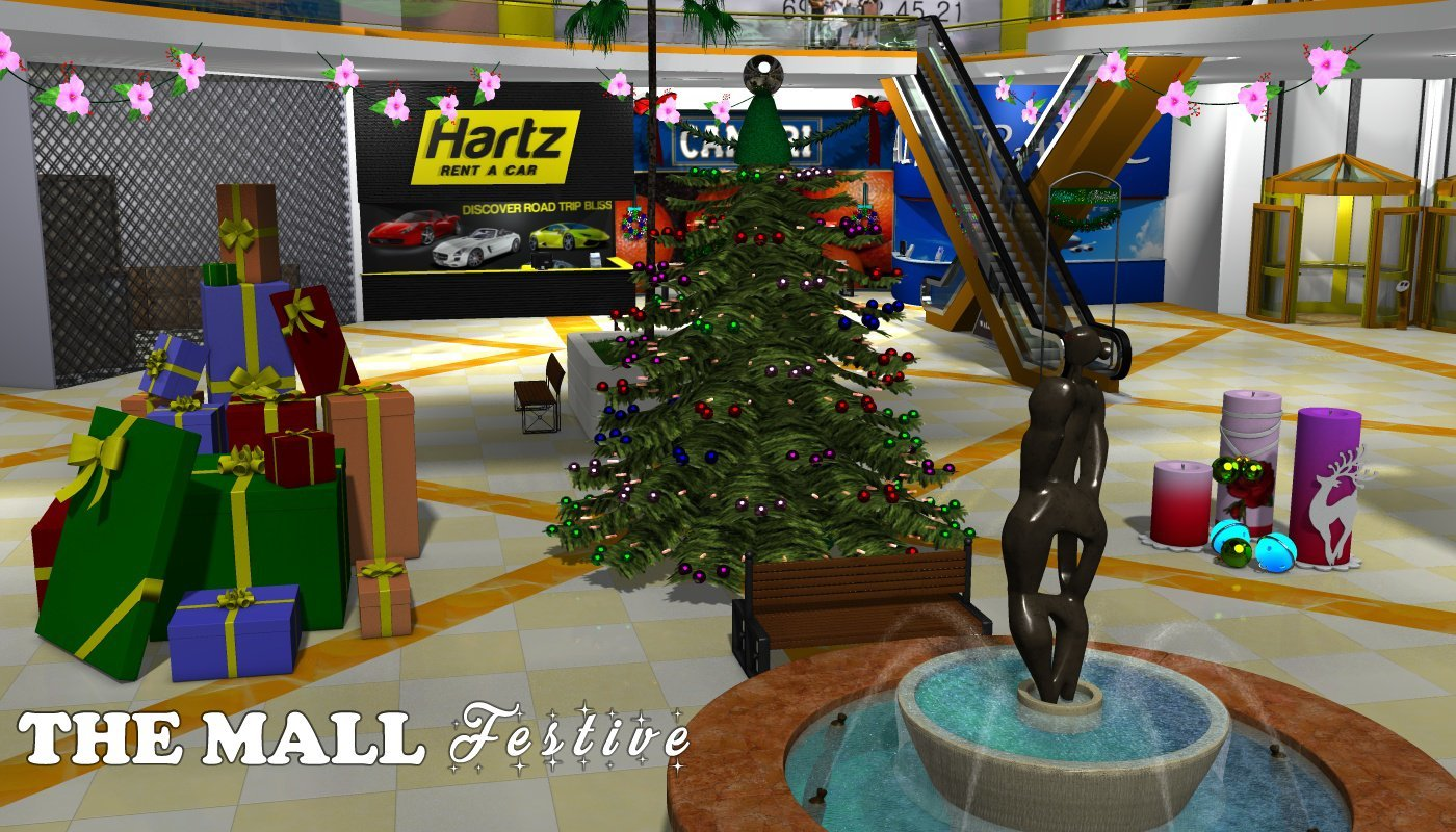 The Mall - Festive - Extended License by greenpots