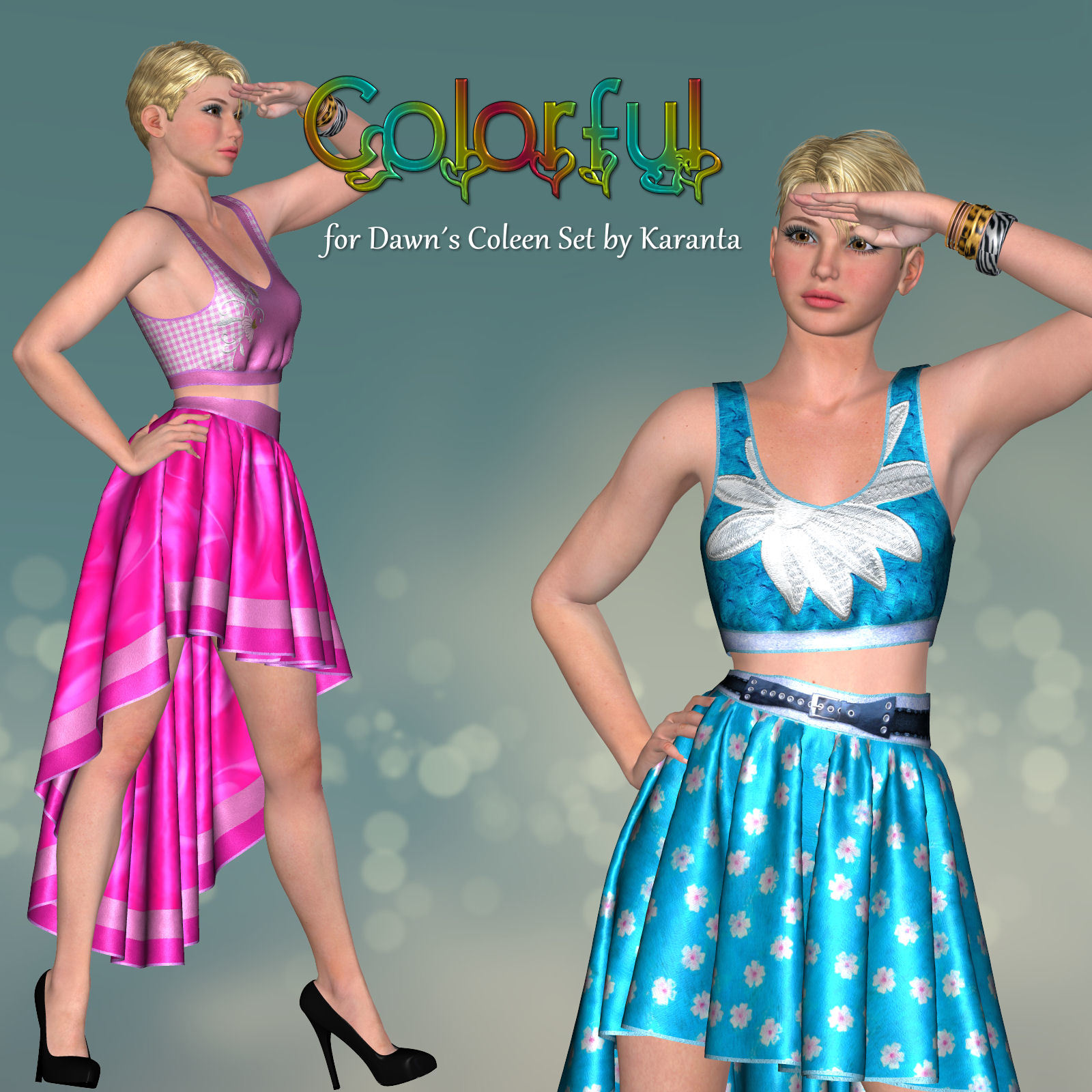 DA-Colorful for Dawns Coleen Set by Karanta by DarkAngelGrafics
