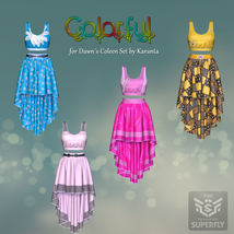 DA-Colorful for Dawns Coleen Set by Karanta image 9