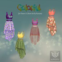 DA-Colorful for Dawns Coleen Set by Karanta image 10