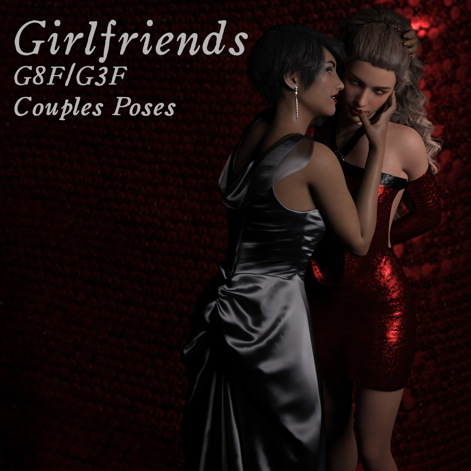 Girlfriends Couples Poses by aeris19