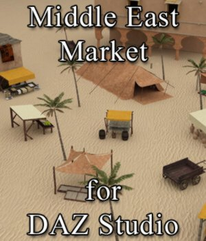Middle East Market for DAZ Studio 3D Models VanishingPoint