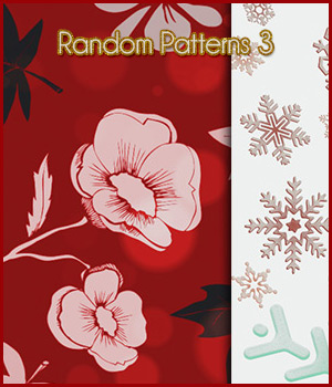 Seamless Random Patterns 3 2D Graphics Merchant Resources antje
