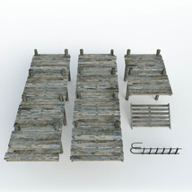 Modular Photo Props: Old Pier - Extended License image 2