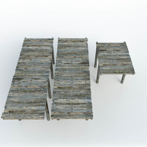 Modular Photo Props: Old Pier - Extended License image 4