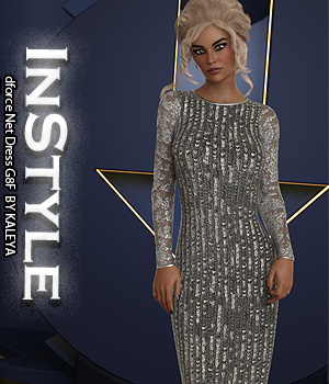 InStyle - dforce Net Dress G8F 3D Figure Assets -Valkyrie-