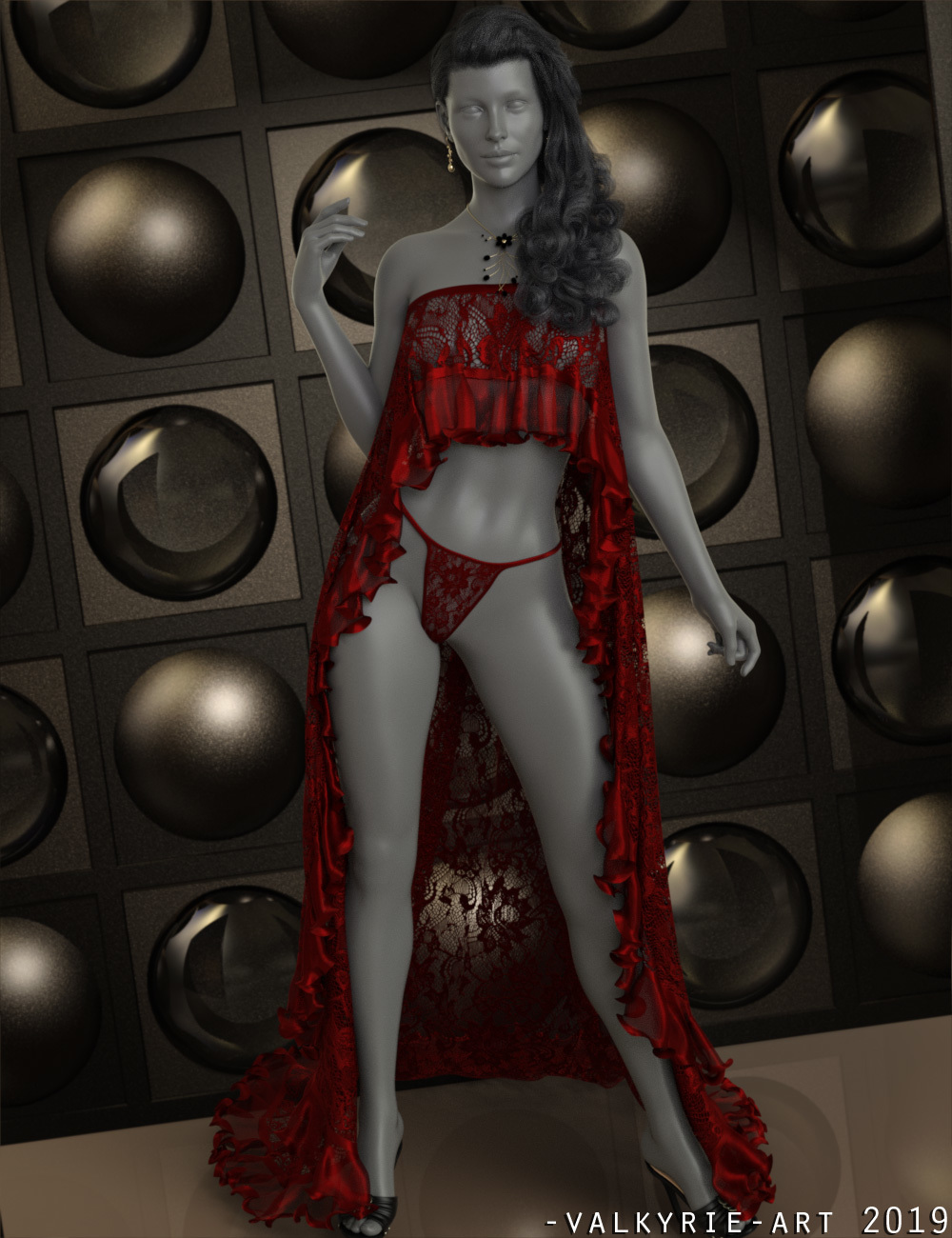 InStyle - dForce - Delilah Lingerie for G8F by -Valkyrie-