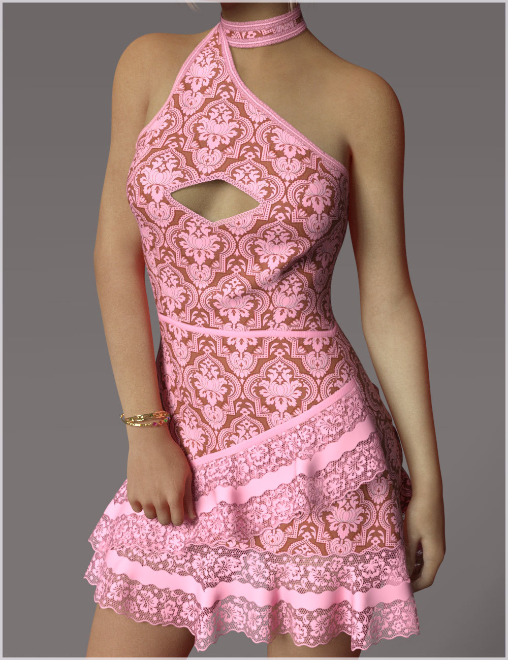 Fling For dForce Mollie Candy Dress Outfit by Belladzines
