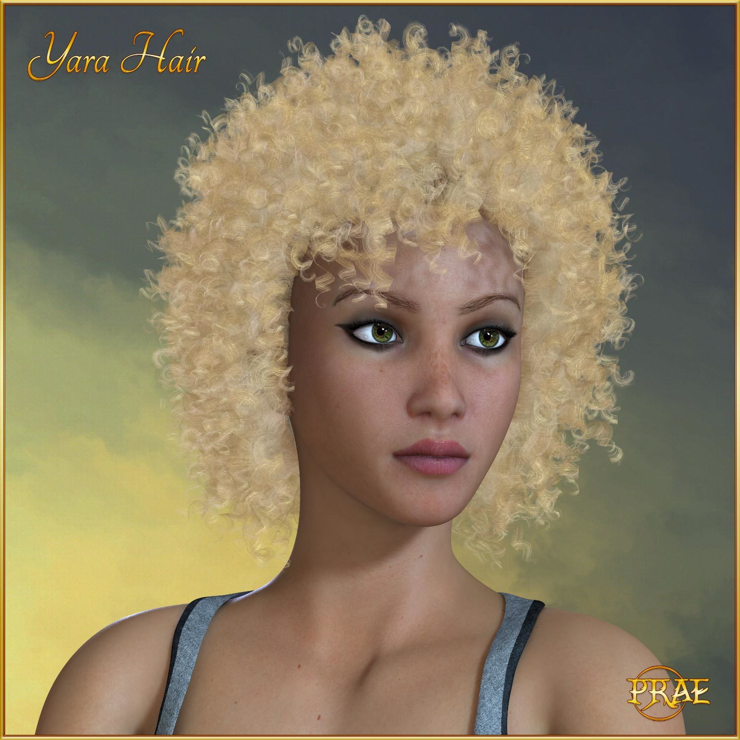 Prae-Yara Hair For La Femme Poser by prae