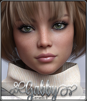 SASE Gabby for Genesis 8 3D Figure Assets Sabby