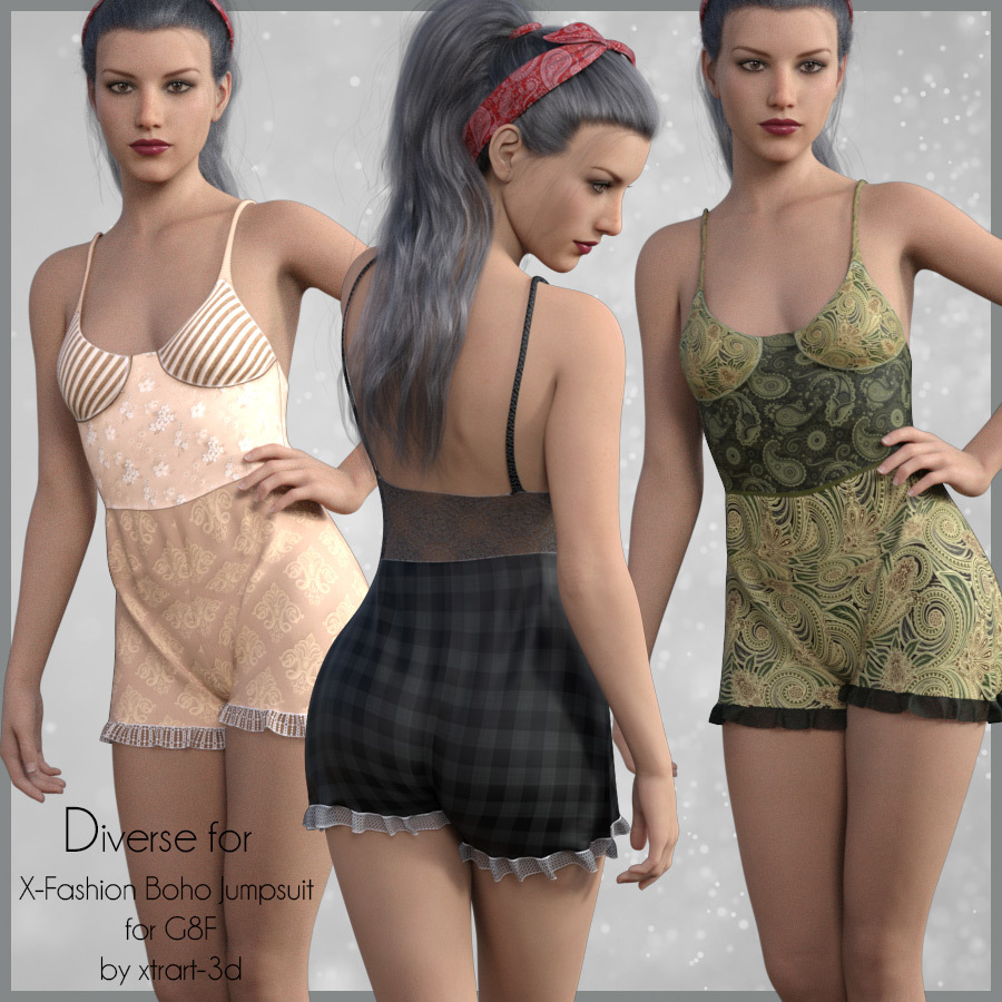 Diverse for Boho Jumpsuit by adarling97