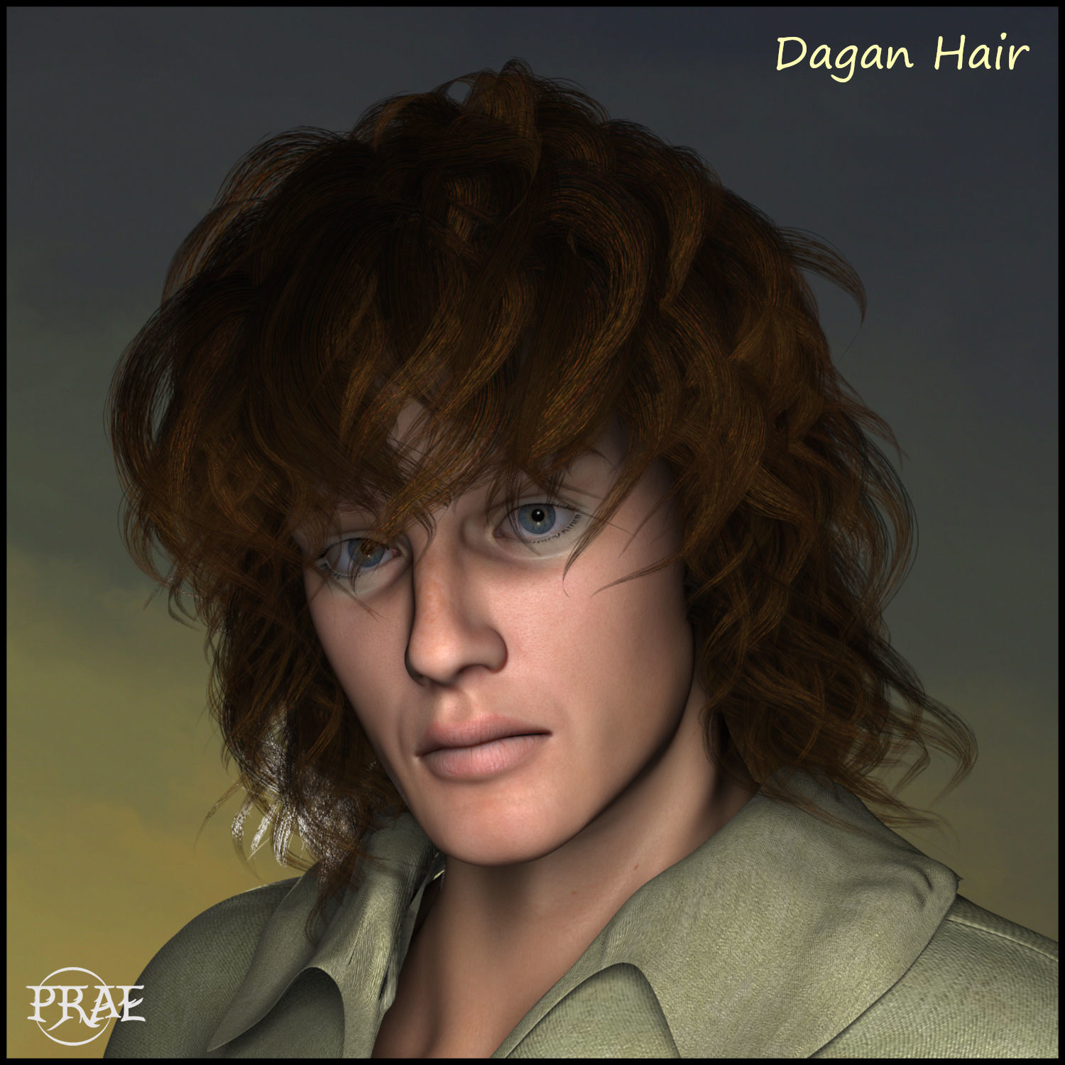 Prae-Dagan Hair For L'Homme and Poser by prae