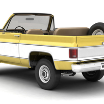 GENERIC CONVERTIBLE SUV 12 EXTENDED LICENSE image 2