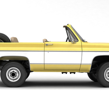 GENERIC CONVERTIBLE SUV 12 EXTENDED LICENSE image 3