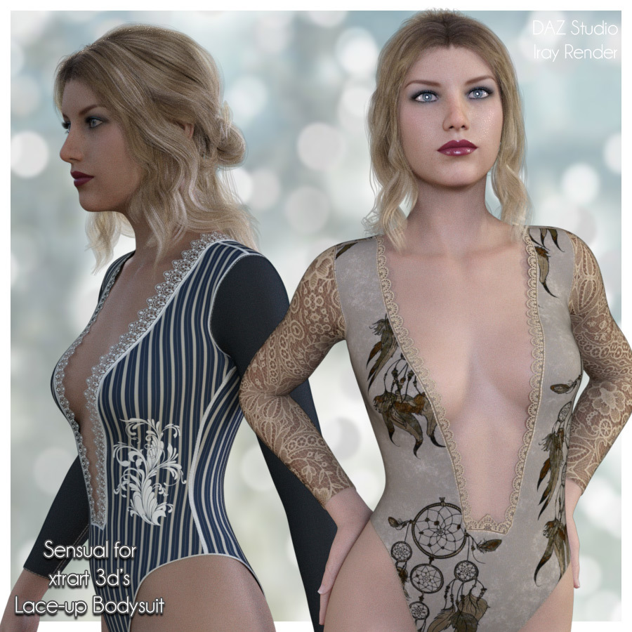 Sensual for Lace-Up BodySuit by adarling97
