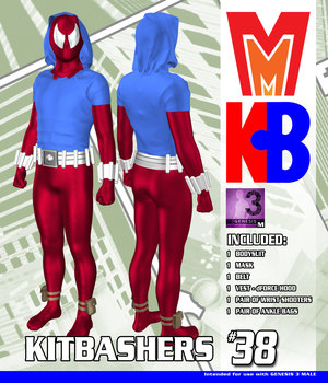 Kitbashers 038 MMG3M 3D Figure Assets MightyMite