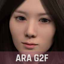 ABCD G2F HEAD MORPHS ONLY for Genesis 2 Female image 2
