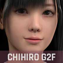 ABCD G2F HEAD MORPHS ONLY for Genesis 2 Female image 4