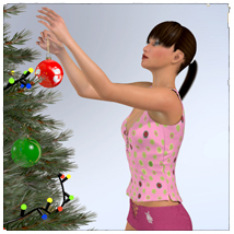 STZ Christmas day poses for LaFemme image 4