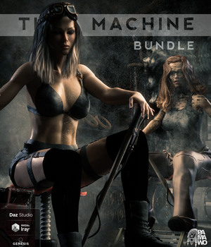 The Machine Bundle For DS 3D Figure Assets 3D Models pamawo