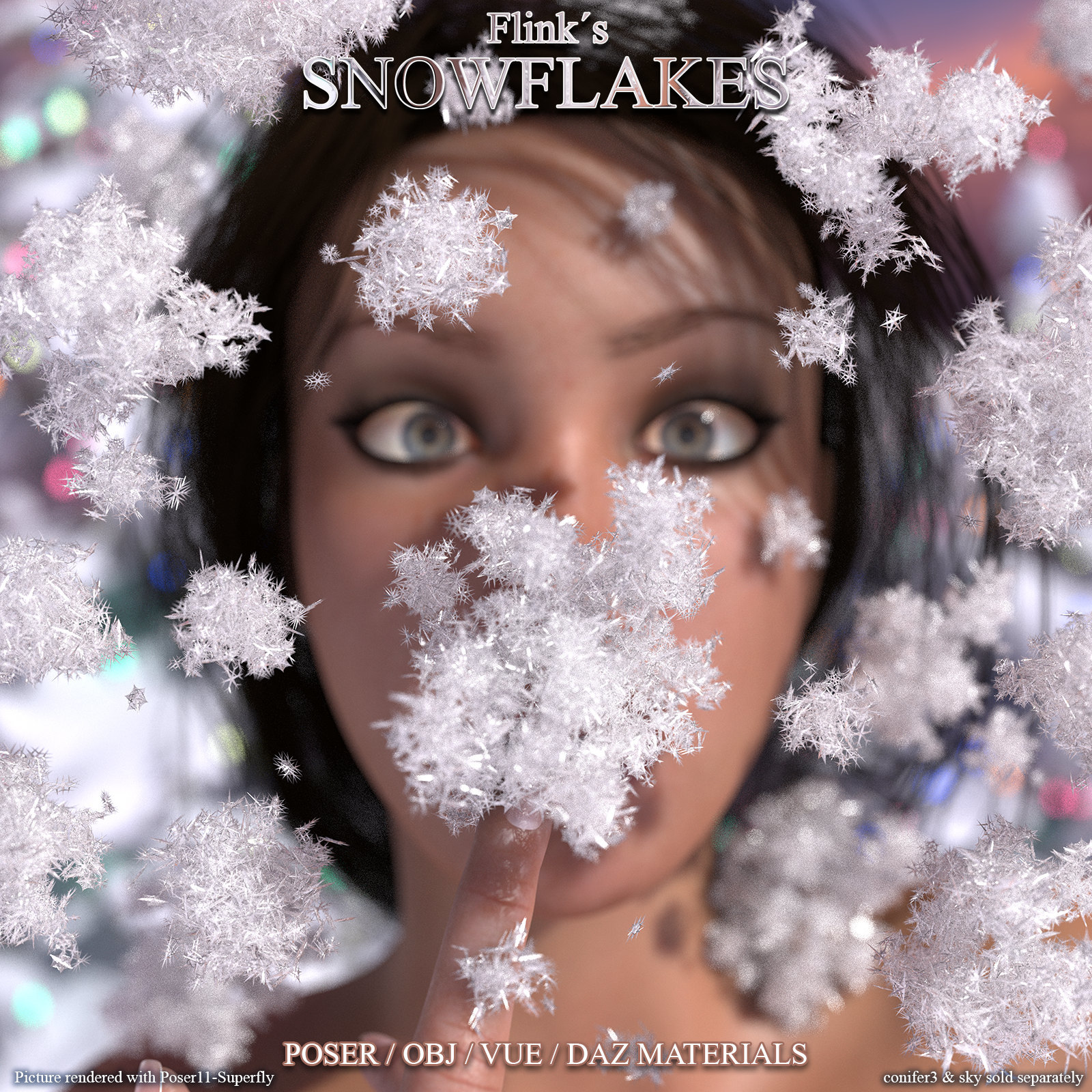 Flinks Snowflakes by Flink