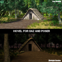 Hovel for Daz and Poser image 2