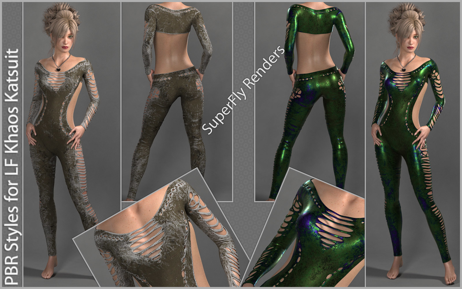 PBR Styles for LF NyX Khaos Katsuit by karanta