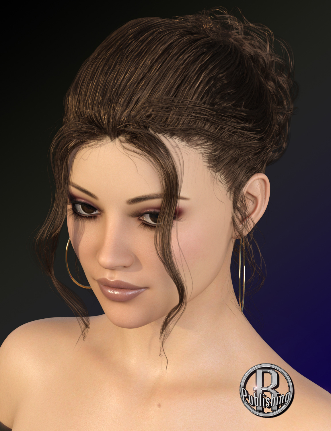 Laure Classy Evening Up Do for the Genesis 3 and 8 Females by RPublishing