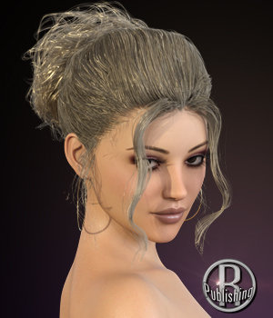 Laure Classy Evening Up Do for the Genesis 3 and 8 Females 3D Figure Assets RPublishing