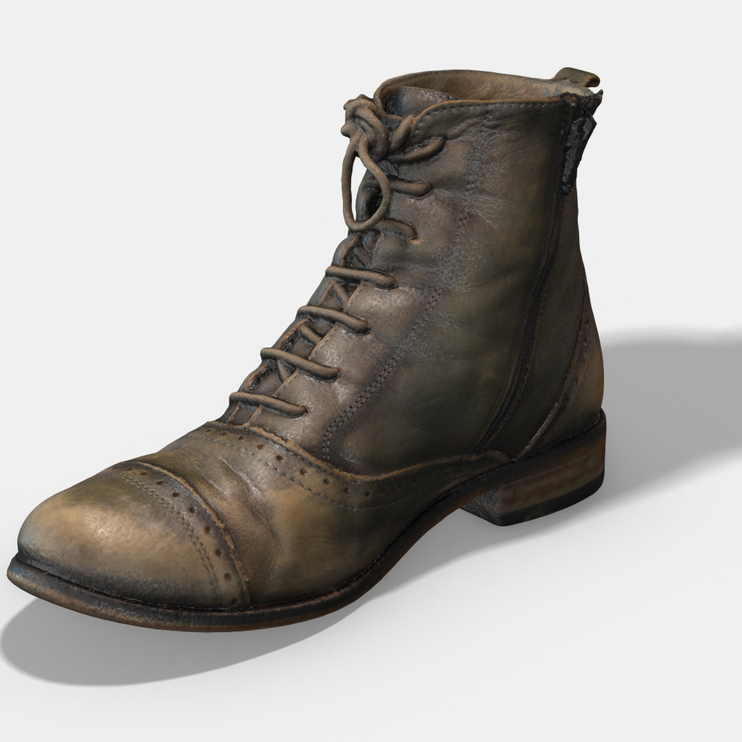 Photoscanned Female Ankle Boots - Extended License by TunnelVision