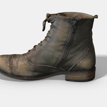 Photoscanned Female Ankle Boots - Extended License image 2