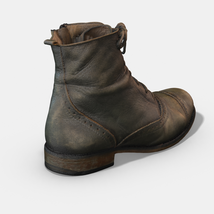 Photoscanned Female Ankle Boots - Extended License image 4