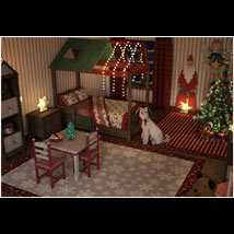 Christmas Kids Bedroom image 2