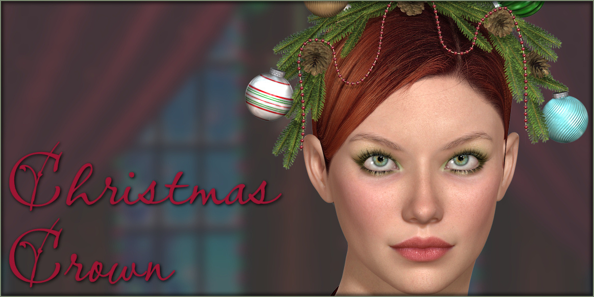 Christmas Crown for V4 by -Wolfie-