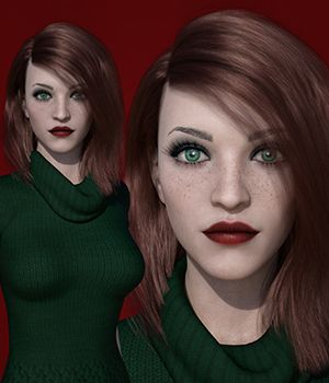 MbM Harlow for Genesis 3 and 8 Female 3D Figure Assets Heatherlly