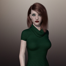 MbM Harlow for Genesis 3 and 8 Female image 2