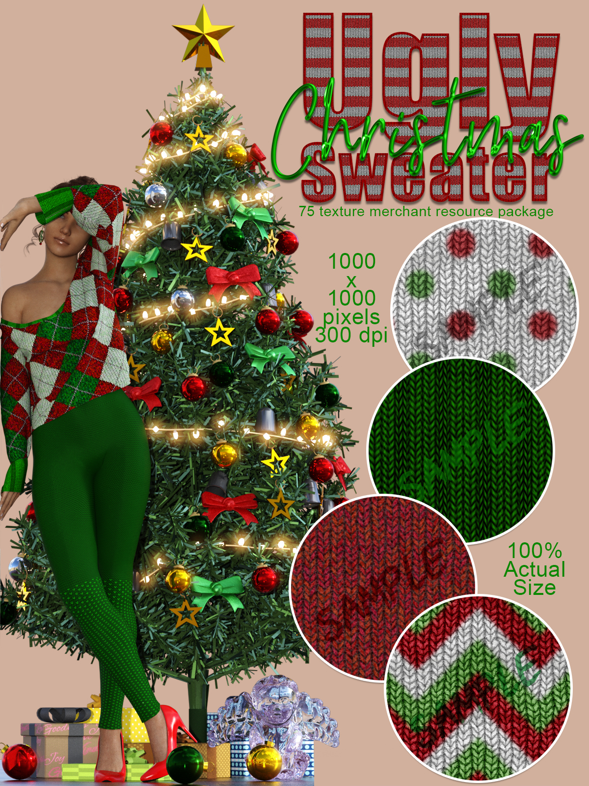 Ugly Christmas Sweater Merchant Resource by creativechaos