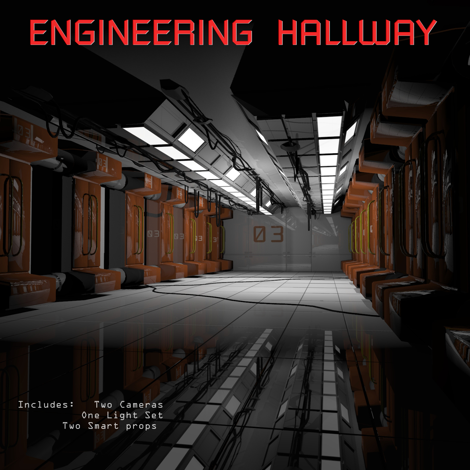Engineering Hallway by shawnaloroc