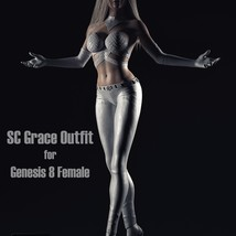 SC Grace Outfit for Genesis 8 Female image 1