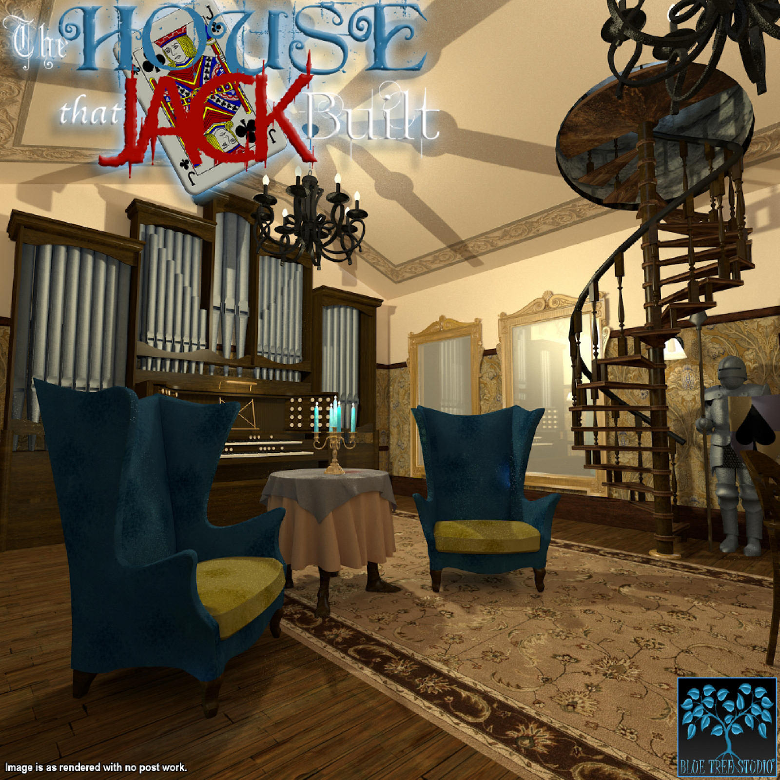 The House That Jack Built for Poser by BlueTreeStudio
