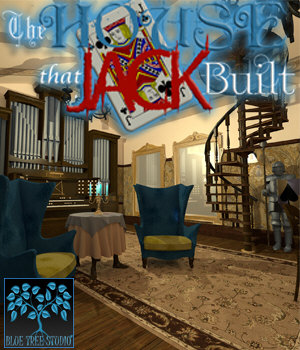 The House That Jack Built for Poser 3D Models BlueTreeStudio