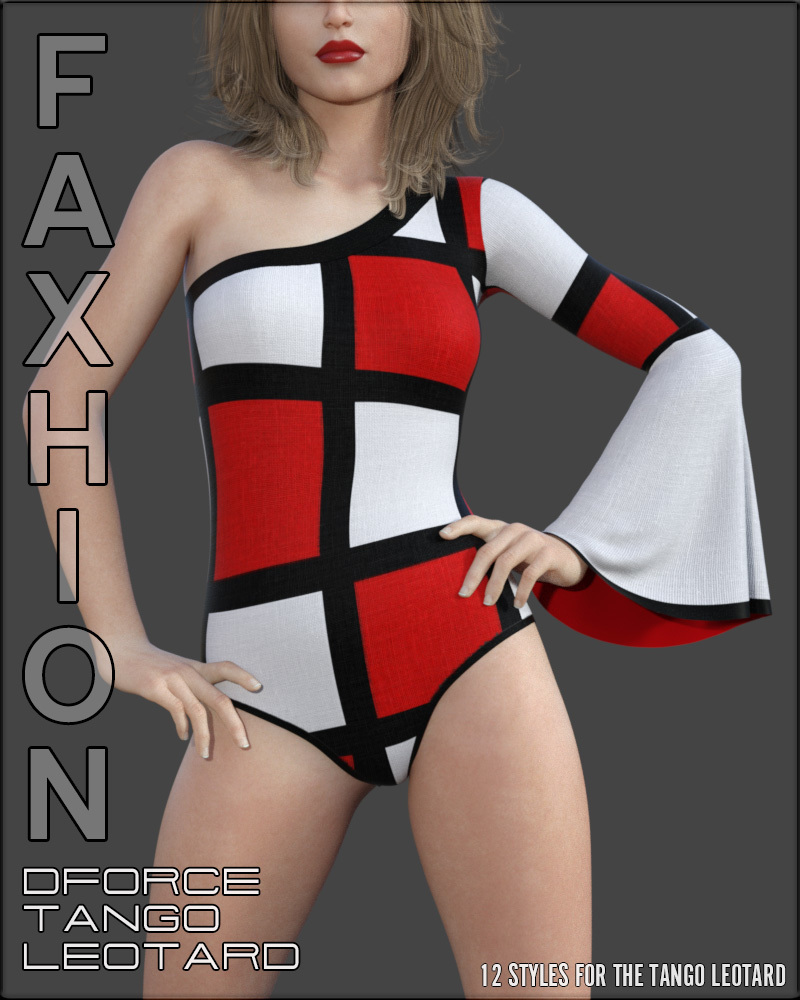 Faxhion - dForce Tango Leotard by vyktohria