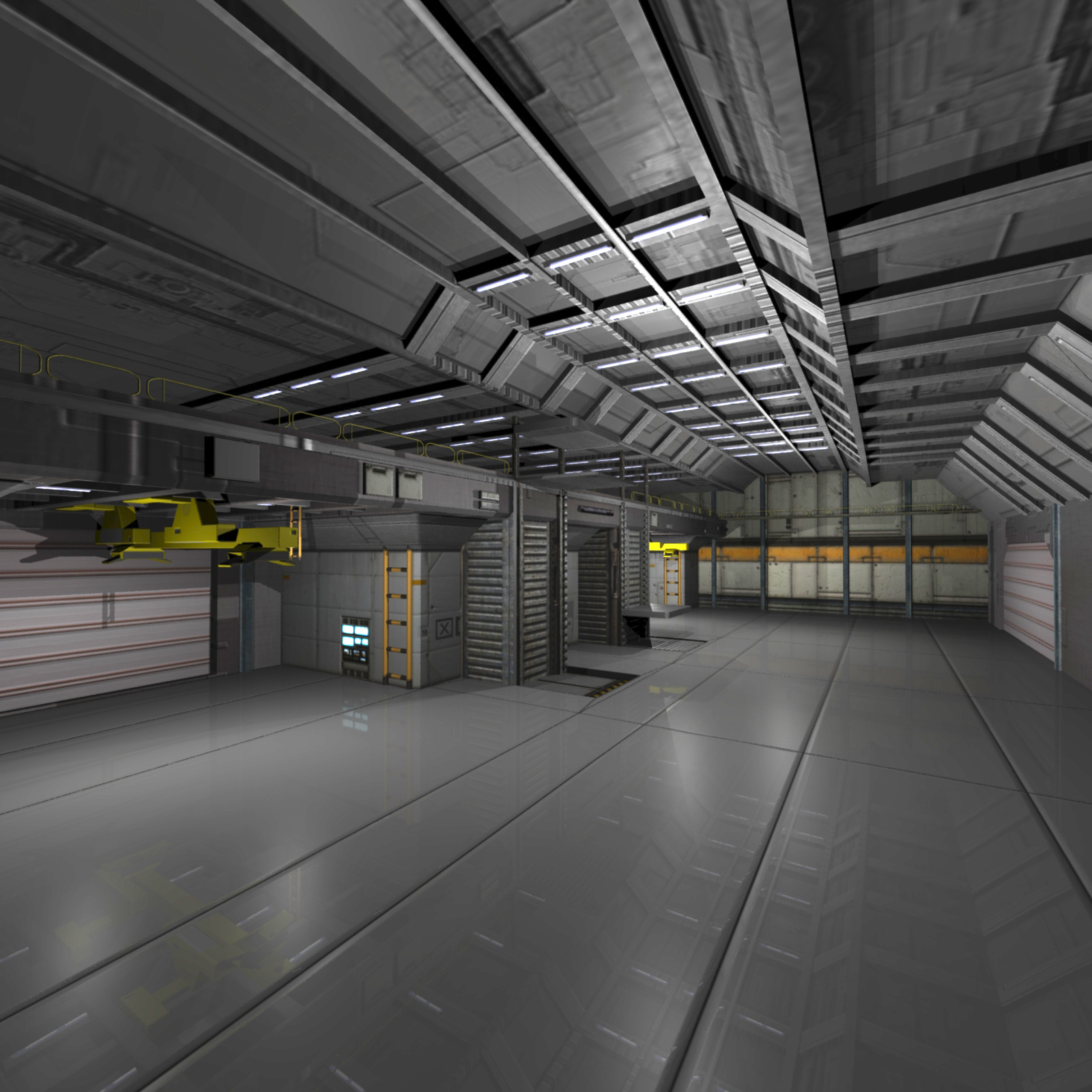 Shuttle Bay FBX by shawnaloroc