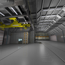 Shuttle Bay FBX image 1